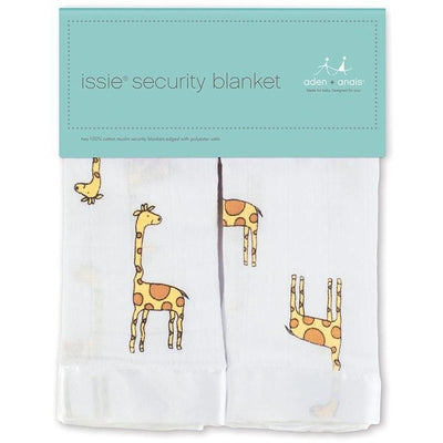 Aden and Anais - Security Blankets Comforter - Issie Jungle Jam Giraffe (set of 2) - Security Blanket - Aden and Anais - Afterpay - Zippay Carry Them Close