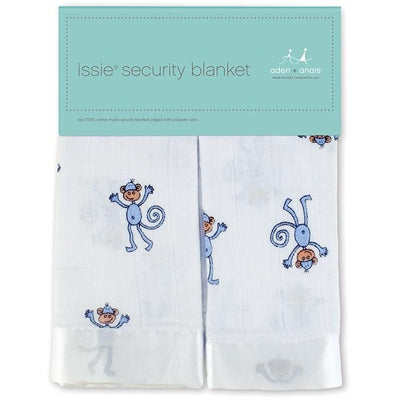 Aden and Anais - Security Blankets Comforter - Issie Jungle Jam Monkey (set of 2) - Security Blanket - Aden and Anais - Afterpay - Zippay Carry Them Close