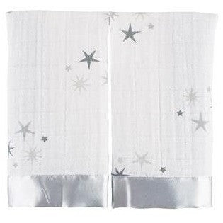 Aden and Anais - Security Blankets Comforter - Issie Twinkle (set of 2) - Security Blanket - Aden and Anais - Afterpay - Zippay Carry Them Close