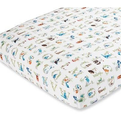 Aden and Anais - Classic Cot Sheet - Paper Tales - nursery - Aden and Anais - Afterpay - Zippay Carry Them Close