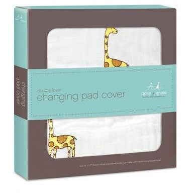 Aden and Anais - Changing Pad Cover - Jungle Jam - nursery - Aden and Anais - Afterpay - Zippay Carry Them Close