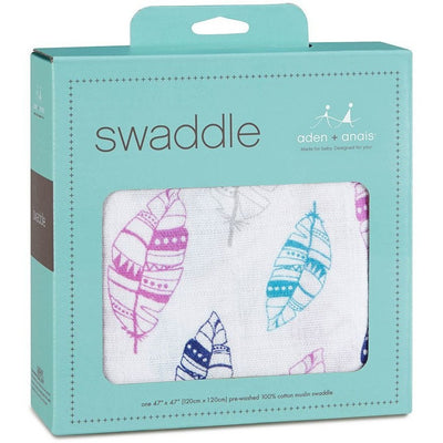 Aden and Anais - Classic Muslin Swaddle - Wink - swaddle - Aden and Anais - Afterpay - Zippay Carry Them Close