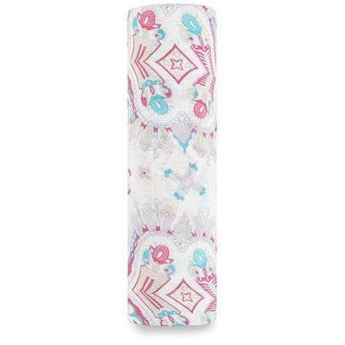 Aden and Anais - Silky Soft Bamboo Muslin Swaddle - Flower Child