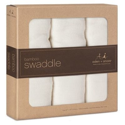 Aden and Anais - Bamboo swaddles (Earthly 3 Pack) - swaddle - Aden and Anais - Afterpay - Zippay Carry Them Close