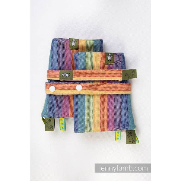 Lenny Lamb - Suck Pads and Reach Strap Set - Sunrise Rainbow, , Carrier Accessories, Lenny Lamb, Carry Them Close  - 1