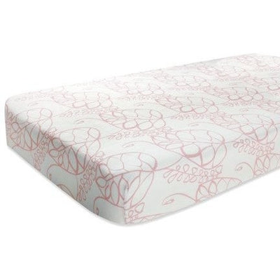 Aden and Anais - Cot Sheet - Bamboo Tranquility - nursery - Aden and Anais - Afterpay - Zippay Carry Them Close