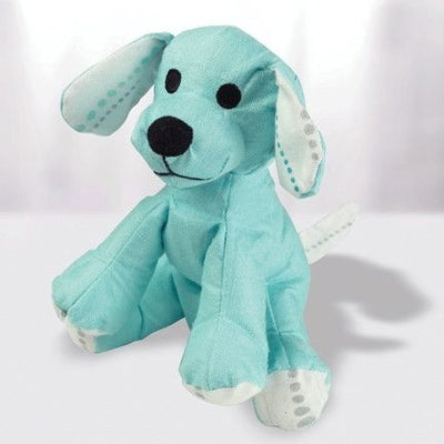 Aden and Anais - Musy Mate Mini Bamboo - Azure Solid Aqua (Puppy) - Toys - Aden and Anais - Afterpay - Zippay Carry Them Close