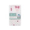 Aden and Anais - Aden by Anais - Wash Cloth Set - Graphic Minnie