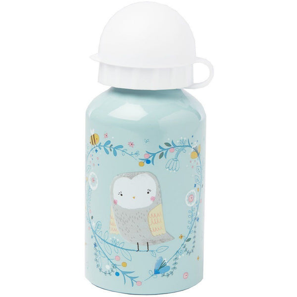Sass & Belle Water Bottle - Woodland Friends Owl