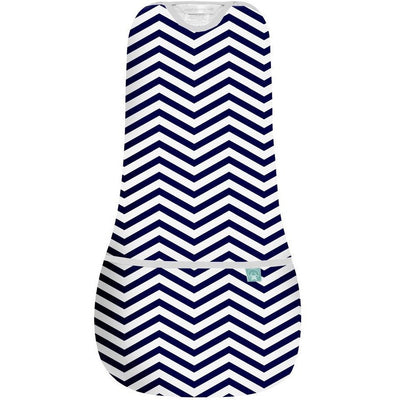 ErgoPouch - AirCocoon Summer Swaddle - Navy Chevron, , Swaddle, ErgoCocoon, Carry Them Close  - 3