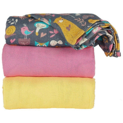 Tula Blanket - At The Bunny Hop (Set) - Baby Blankets - Tula - Afterpay - Zippay Carry Them Close