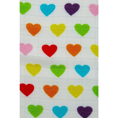 Tula Blanket - Rainbow Hearts Oliver (Set), , Baby Blankets, Tula, Carry Them Close  - 2