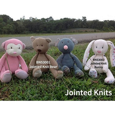Bonikka - Jointed Knit Bunny - Toys - Bonikka - Afterpay - Zippay Carry Them Close