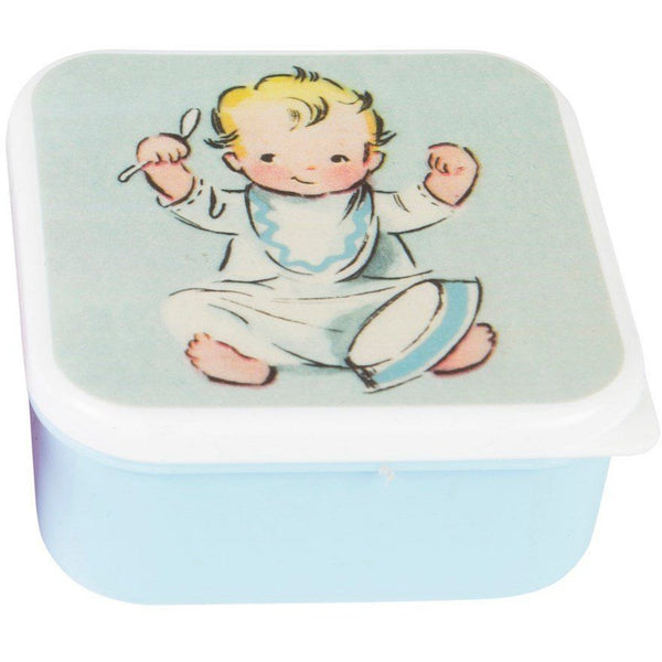 Sass & Belle Mini Snack Box - Vintage Nursery Blue