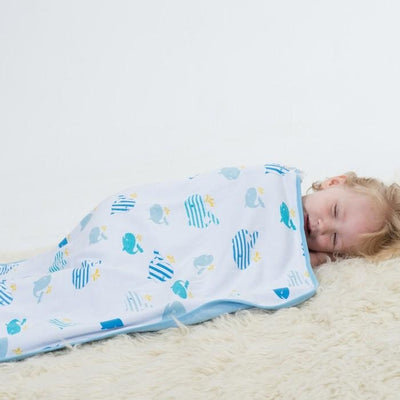 Bubble - Dream Blanket (Whale of a Time) - Baby Blankets - Bubble - Afterpay - Zippay Carry Them Close