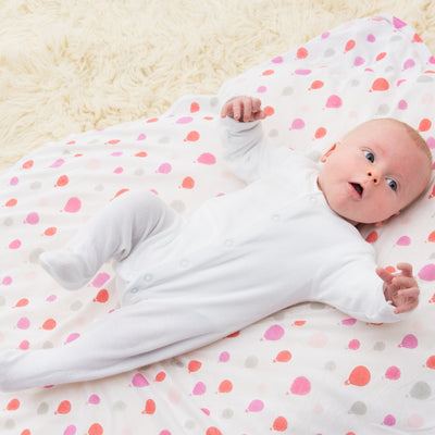 Bubble - Baby Swaddle Bamboo (Dreamtime Pink Girls Set of 3) - swaddle - Bubble - Afterpay - Zippay Carry Them Close