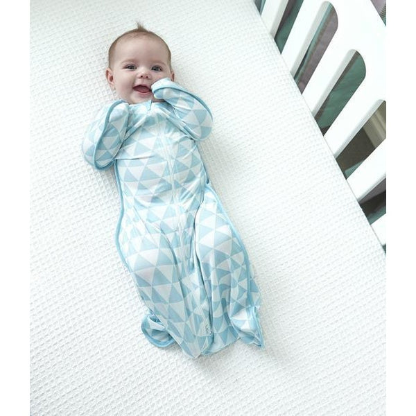 Love to Dream - Love to Swaddle Up Bamboo Summer Lite - Ocean