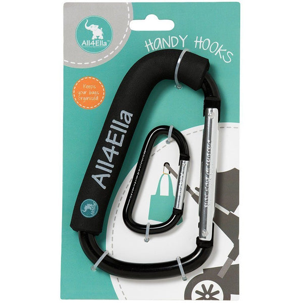 All4Ella Handy Hook - Black