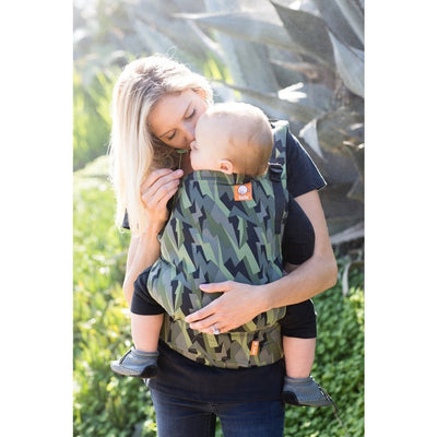 Tula Toddler Carrier - Black Lightning