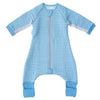 Gro - GroRomper Sleep Suit Cosy - Blue Stripe - Baby Sleeping Bags - The Gro Company - Afterpay - Zippay Carry Them Close