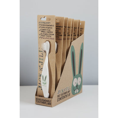 Jack n' Jill - Bio Toothbrush - Bunny - Mouth Care - Jack n Jill - Afterpay - Zippay Carry Them Close