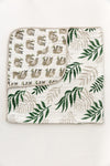 Clementine Kids - Reversible Muslin Blanket Quilt - Jungle Fern