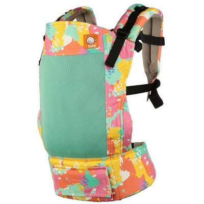 Tula Free-To-Grow Carrier - Coast Paint Palette - Baby Carrier - Tula - Afterpay - Zippay Carry Them Close