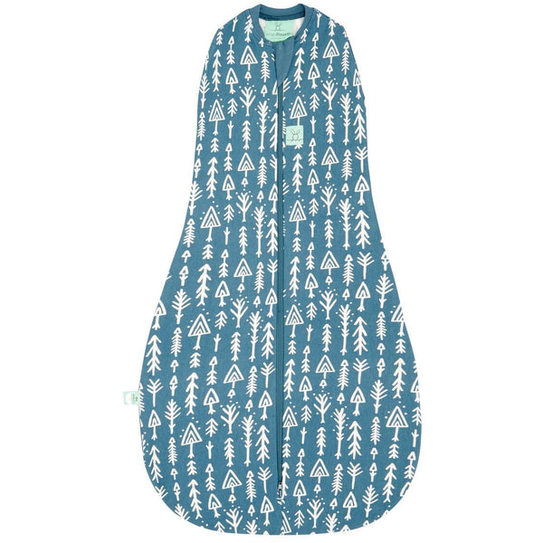 ErgoPouch - ErgoCocoon Summer Swaddle & Sleeping Bag (0.2TOG) - Midnight Arrows