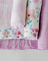 Little Unicorn - Cotton Muslin Baby Swaddle (Set 3) - Morning Glory