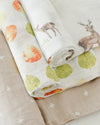Little Unicorn - Cotton Muslin Baby Swaddle (Set 3) - Oh Deer