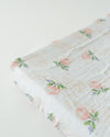 Little Unicorn - Changing Pad Cover - Watercolour Rose