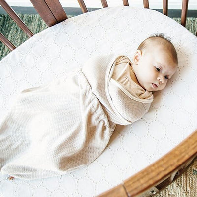Ergobaby Lightweight Swaddler - Sand (One Size) - swaddle - Ergobaby - Afterpay - Zippay Carry Them Close