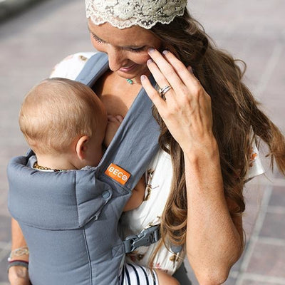 Beco Baby Carrier - Beco Gemini Grey - Baby Carrier - Beco - Afterpay - Zippay Carry Them Close