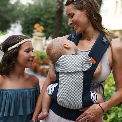 Beco Baby Carrier - Beco Gemini Cool Navy - Baby Carrier - Beco - Afterpay - Zippay Carry Them Close