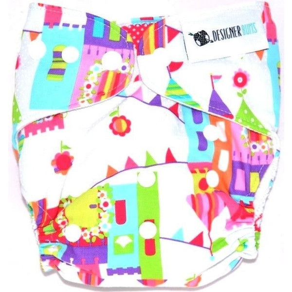 Designer Bums - Cloth Nappy - Enchanted Kingdom, , Cloth Nappies, Designer Bums, Carry Them Close  - 1