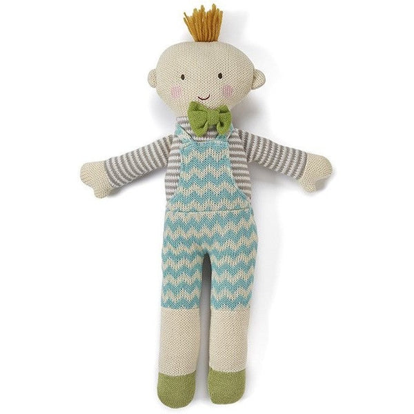 Nana Huchy - Oliver Knitted Doll, , Toys, Nana Huchy, Carry Them Close