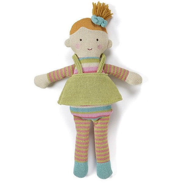 Nana Huchy - Matilda Knitted Doll, , Toys, Nana Huchy, Carry Them Close