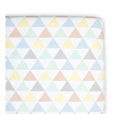 Weegoamigo Fitted Cot Sheet - Tri Metric - Bedding - Weegoamigo - Afterpay - Zippay Carry Them Close