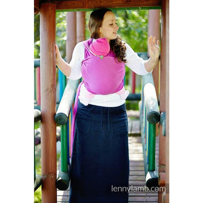 Lenny Lamb Stretchy Wrap - FUCHSIA - Stretchy Wrap - Lenny Lamb - Afterpay - Zippay Carry Them Close