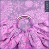 Fidella Ring Sling - Iced Butterfly -violet, , Ring Sling, Fidella, Carry Them Close  - 1