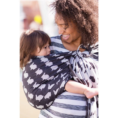 Tula Ring Sling - Fluff Vista - Wrap Conversion - Ring Sling - Tula - Afterpay - Zippay Carry Them Close