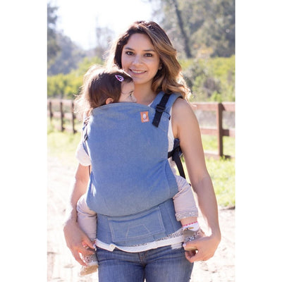 Tula Baby Carrier Standard - Harbor - Baby Carrier - Tula - Afterpay - Zippay Carry Them Close