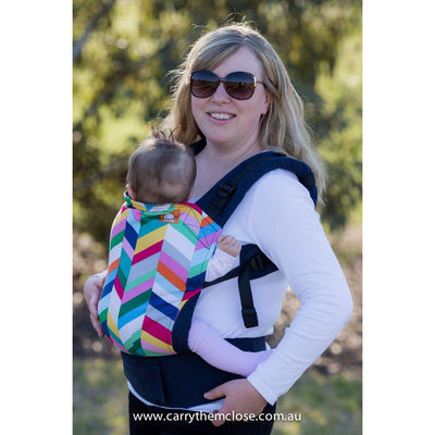 Tula Baby Carrier Standard - Flourish (EXCLUSIVE to Carry Them Close) - Baby Carrier - Tula - Afterpay - Zippay Carry Them Close