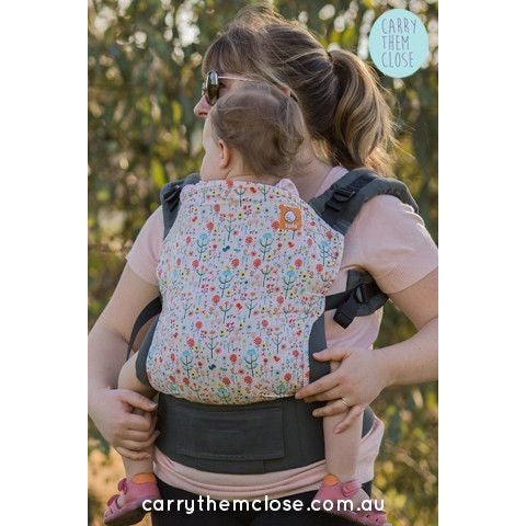 Carry Them Close Exclusive (Toddler Tula) - Wildflowers (discontinued), , Baby Carrier, Tula, Carry Them Close  - 1