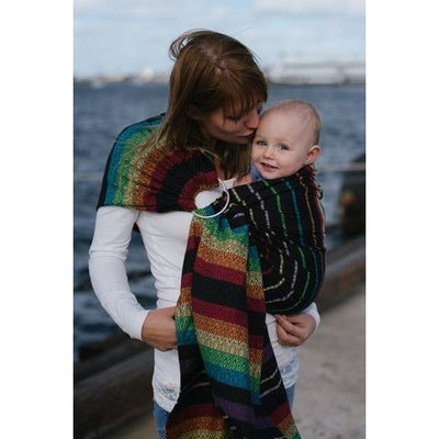 Tula Ring Sling - Imagine Dusk - Wrap Conversion - Ring Sling - Tula - Afterpay - Zippay Carry Them Close