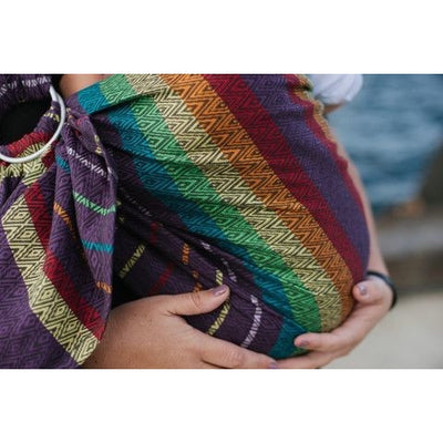 Tula Ring Sling - Imagine Moonlight - Wrap Conversion - Ring Sling - Tula - Afterpay - Zippay Carry Them Close