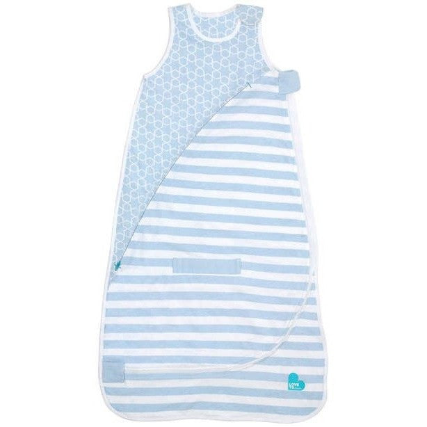 Love to Dream - Inventa Sleeping Bag 2.5 TOG - Blue - Baby Sleeping Bags - Love To Deam - Carry Them Close