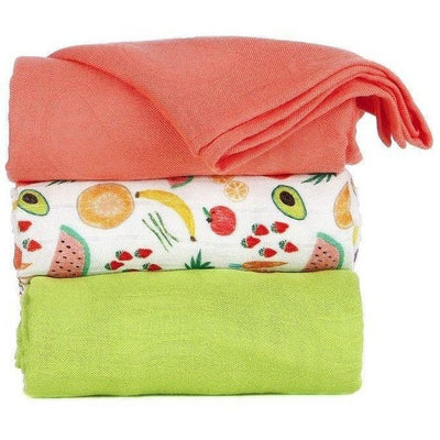 Tula Blanket - Juicy (Set), , Baby Blankets, Tula, Carry Them Close  - 1