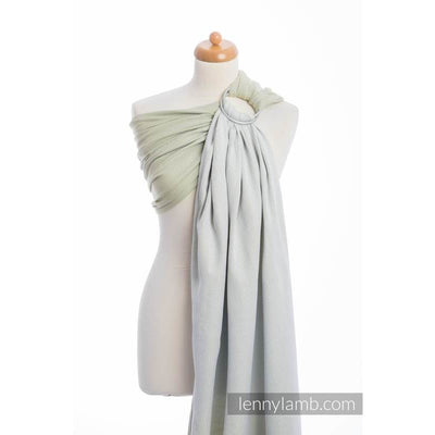 Lenny Lamb Ring Sling - Little Herringbone Olive Green - Ring Sling - Lenny Lamb - Afterpay - Zippay Carry Them Close