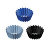 Lunch Punch - Jumbo Silicone Cups - Blue (3 set)